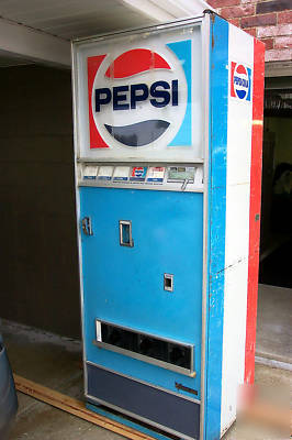 Vintage pepsi soda pop machine
