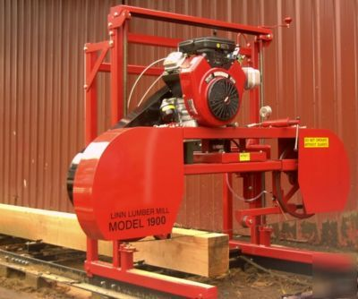 Linn lumber sawmill kit build your own mill