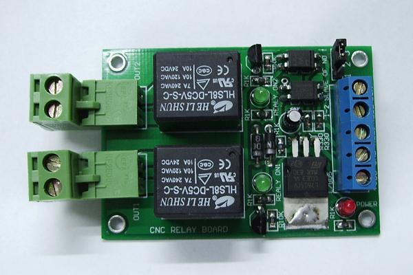 Relay Board For Router Or Mill Cnc Stepper System