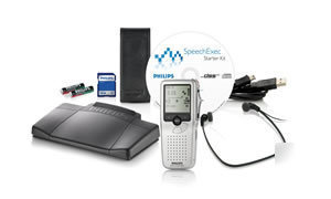 Philips 9398 bundle 9380 recorder + 7177 transcriber