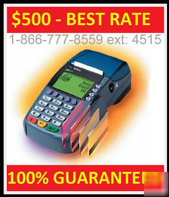 Merchant account w/ credit card machine free shipping